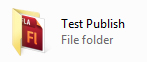 Test-Publish